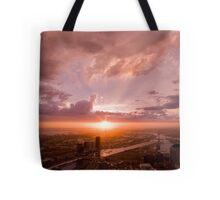Melbourne at Sunset Tote Bag