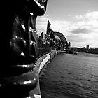 Sydney Harbour Bridge from afar by Ben Shaw