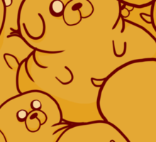 Heart Jake Sticker