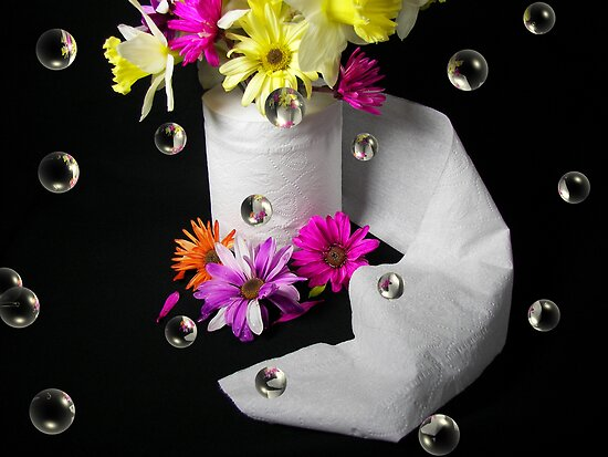 Paper Flowers by Maria Dryfhout