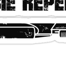 Zombie Repellent Sticker