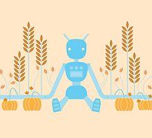 12 Months of Robots - October by Sophia Adalaine Zhou