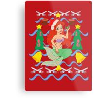 The Merry Mermaid Metal Print