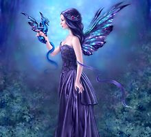 Iridescent Fairy & Dragon by Rachel Anderson