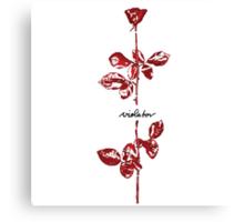 Depeche Mode : Violator Paint LP for White Canvas Print