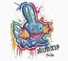 Cute Mudkip Spraypaint Tshirts + More! ' Pokemon ' Kids Clothes