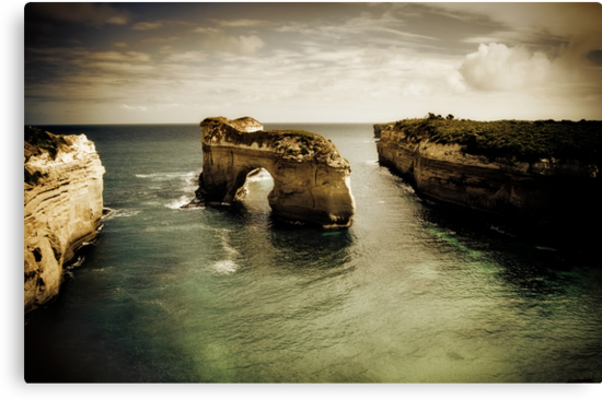 Natural Arch #2, Great Ocean Road, Victoria  by Samantha Cole-Surjan