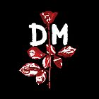 Depeche Mode : Violator DM Paint White by Luc Lambert