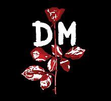 Depeche Mode : Violator DM Paint White by Luc Lambert