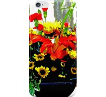 A Bouquet of Thanksgiving Wishes iPhone Case/Skin