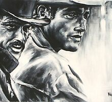 Butch & Sundance by Nicola  Cairns
