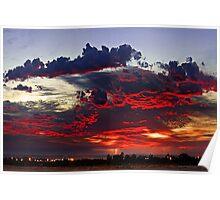 Sunrise Thunderstorm Poster