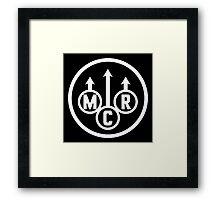 MCR Framed Print