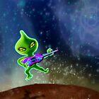 Aliens R Us by Janet Boyd Art