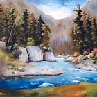 Rushing Waters by Brenda Thour