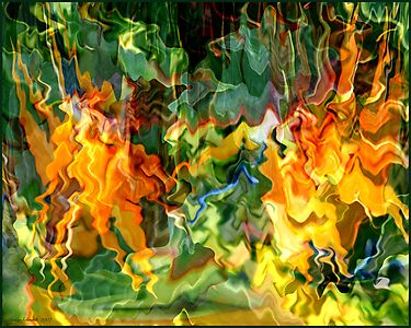 Paradise Revisited - Jungle Fire by Ginny Schmidt