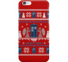 Who-liday Sweater iPhone Case/Skin