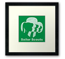 Sailor Scouts (Sailor Moon) Framed Print