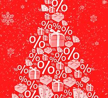Christmas tree discount by Viktorcvetkovic