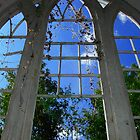 Looking up to Heaven from inside God's House by kimbeaux1969