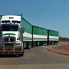 Road Train at Ti-Tree by myraj