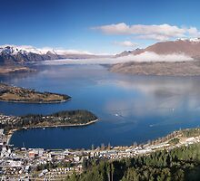 Queenstown, New Zealand by David James