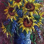 Sunflower Bouquet by David Paul