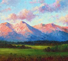 Morning Light On Mount Shavano by David Paul