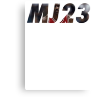 Michael Jordan - BULLS - #23 Canvas Print