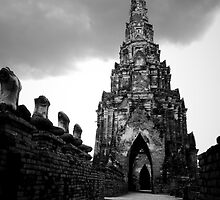 Ayutthaya Sky by Lass With a Camera