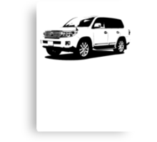 Toyota Land Cruiser Canvas Print