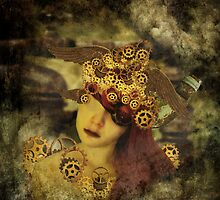 The clockwork tells me what to see by strawberries