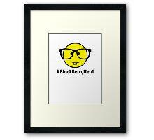 BB Nerd Framed Print