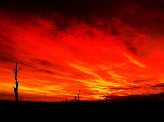 Mystery Sunset...2 by Jarrod Lees
