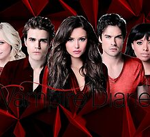 The Vampire Diaries Cast | Red by Dylanoposey