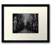 The Shortcut Framed Print