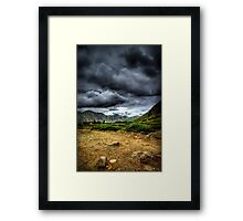 When the Thunder Comes Framed Print