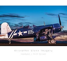 Corsair - Goodyear FG1D by KristofferGlenn