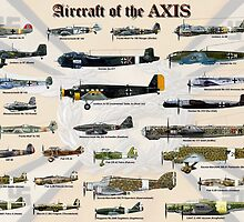 Aircraft of the AXIS by Mil Merchant