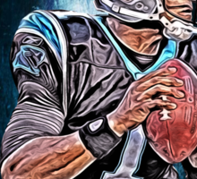 NFL Carolina Panthers Sticker