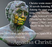 Agatha Christie  by Bob Martin