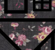 The NBHD - Dark Floral Print Sticker