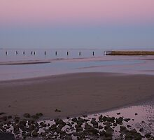 Shorncliffe Sunset by Judy Harland