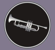 Trumpet Silver Sign Kids Clothes