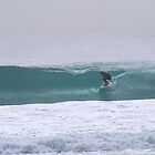 Barreled at Bunker Bay by Dors
