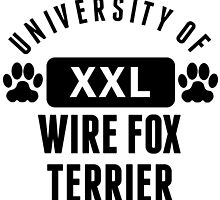 University Of Wire Fox Terrier by kwg2200