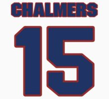 Basketball player Mario Chalmers jersey 15 by imsport