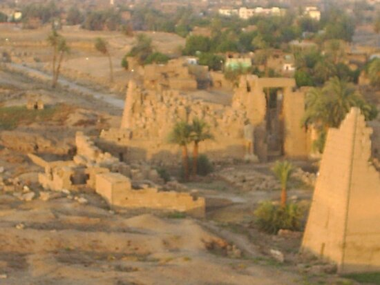 LUXOR FROM THE AIR by jeanemm