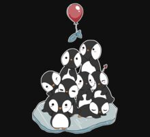 Penguin mountain T-Shirt