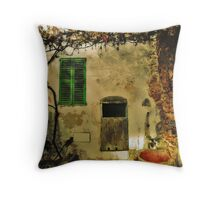 The Allegory Throw Pillow